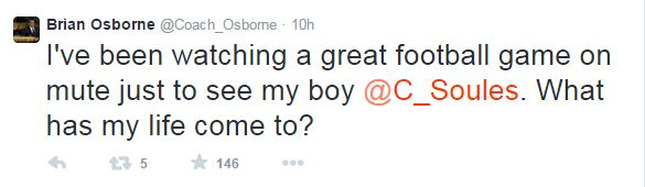 Brian Osborne Twitter 1