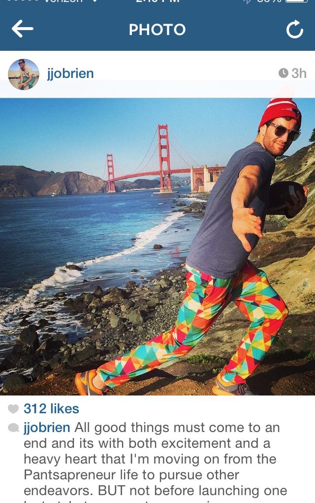 JJ's Instagram