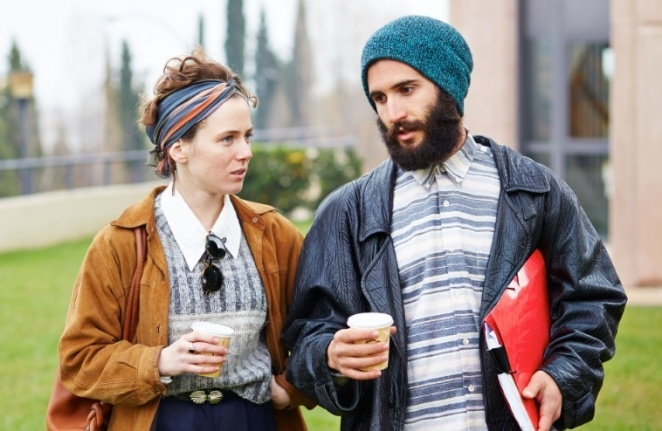 Hipsters Drinking Coffee