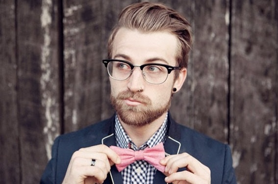 Bow tie Hipster