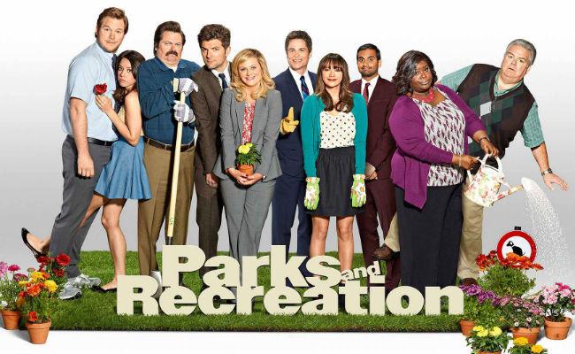 Parks and Rec Cast